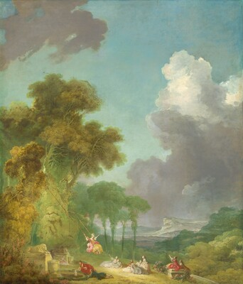 Jean Honoré Fragonard, The Swing, c. 1775/1780