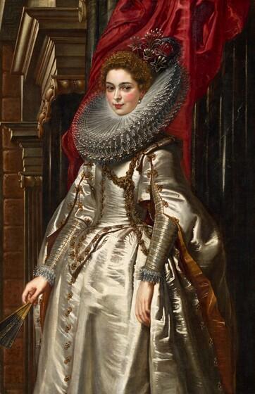 Sir Peter Paul Rubens, Marchesa Brigida Spinola Doria, 1606