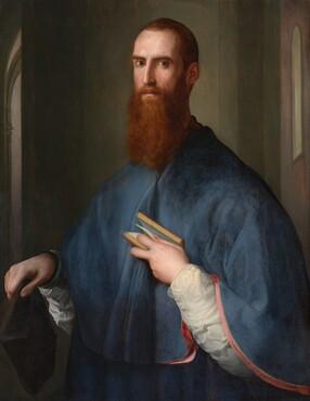 Pontormo, Monsignor della Casa, probably 1541/1544