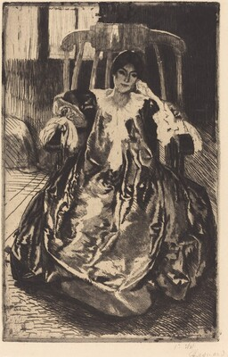 The Silk Gown (La robe de soie)