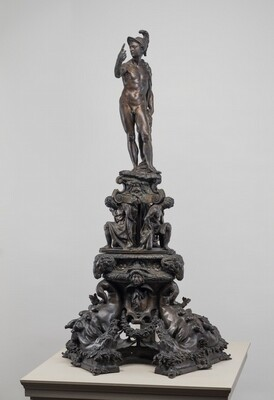 Andiron with Figure of Mars