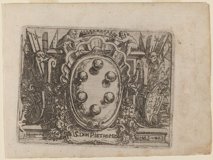 Dedication to Don Pietro Medici from Bizzarie di varie Figure
