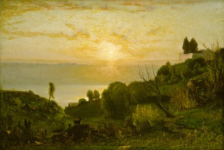 Lake Albano, Sunset