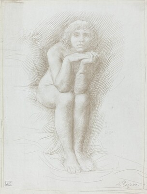 Nude Model Seated