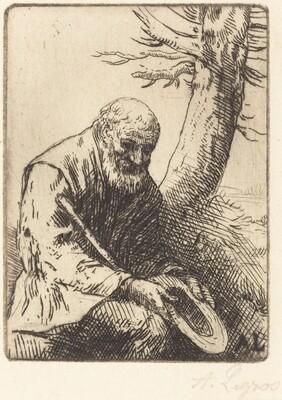 Beggar with Hat in Hand (Mendiant avec son chapeau a la main)