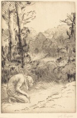 The Prodigal Son, 2nd plate (L'enfant prodigue)