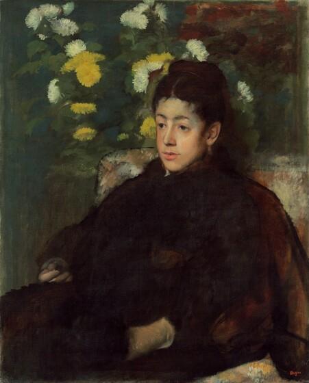 Edgar Degas, Mademoiselle Malot, c. 1877