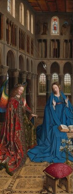 Jan van Eyck, The Annunciation, c. 1434/1436c. 1434/1436