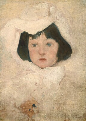 Little Girl in White
