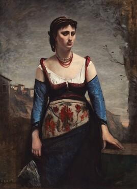 Jean-Baptiste-Camille Corot, Agostina, 1866