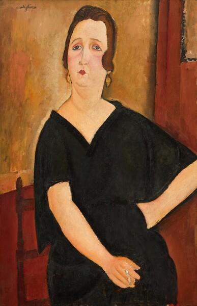 Madame Amédée (Woman with Cigarette)