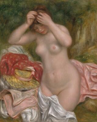 Bather Arranging Her Hair