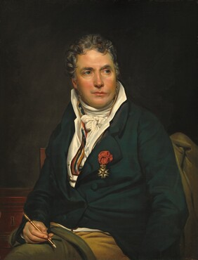 Anonymous Artist, Georges Rouget, Jacques-Louis David, c. 1813/1815c. 1813/1815