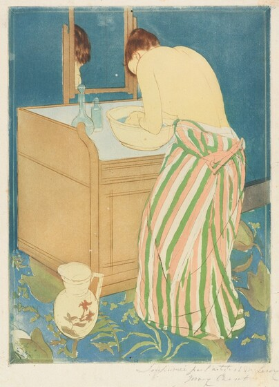Mary cassatt selected color prints for Mary cassatt coloring pages