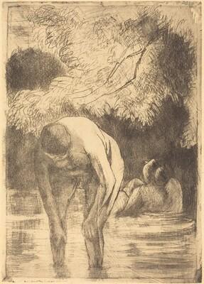 Two Women Bathing (Les deux baigneuses)