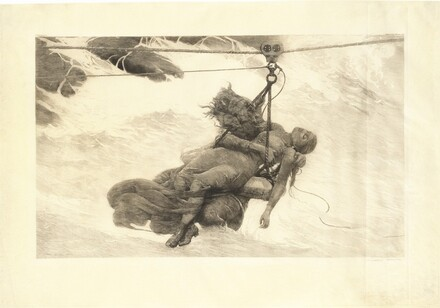Winslow Homer, Saved, 1889