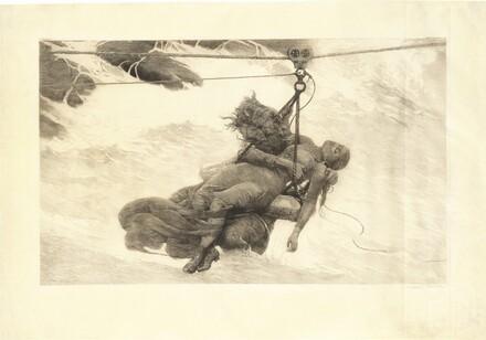 Winslow Homer, Saved, 1889