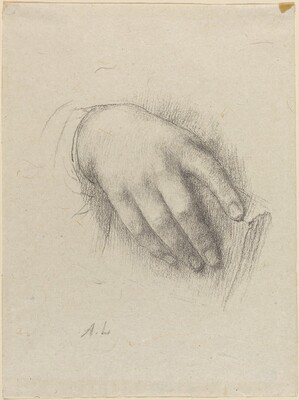 The Hand of the Artist's Daughter