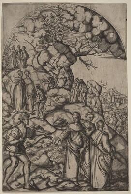 Saint Filippo Benizzi Healing a Beggar