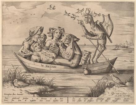 Die Blau Schuyte (The Ship of Fools)