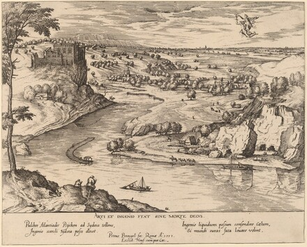 River Landscape with Mercury and Psyche