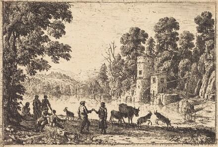 The Dance on the River Bank (La danse au bord de l'eau)