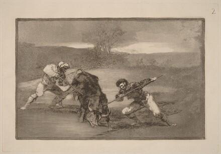 Otro modo de cazar a pie (Another Way of Hunting on Foot)