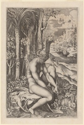 Venus Extracting a Thorn from Her Foot