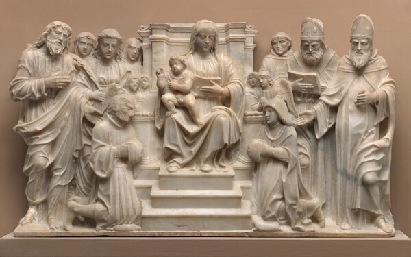 Madonna and Child with Saints and Donors