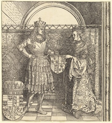 The Betrothal of Maximilian with Mary of Burgundy