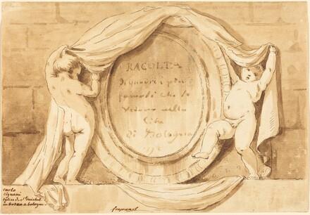 Title Page: Oval Design from the Church of San Michele de Bosco, Bologna