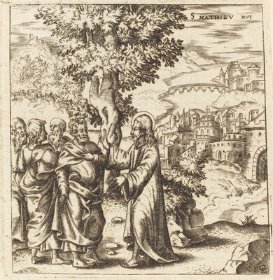 Christ Admonishes His Disciples
