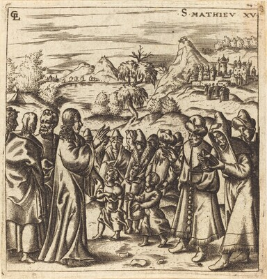 Christ Rebukes the Scribes and Pharisees
