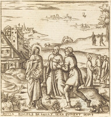 Christ Bids Two Disciples of John the Baptist to Follow Him