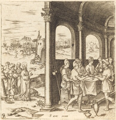 Christ Journeying to the House of a Pharisee