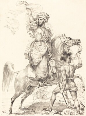 The Chief of the Mamelukes on Horseback
