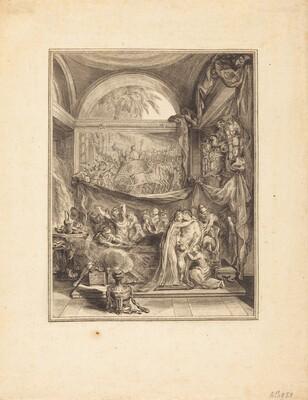 La mort de Germanicus