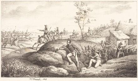 Infantry Ambush against the Cosacks
