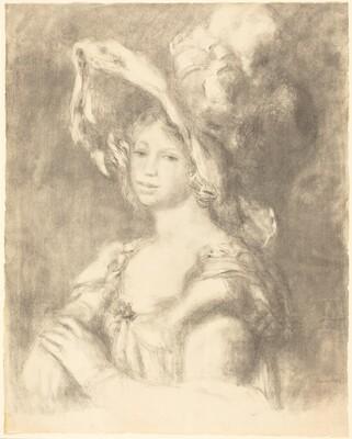 Bust of a Young Woman (Jeune femme en buste)