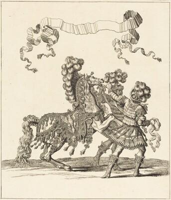 Cheval de Main et Palfreniers Romains