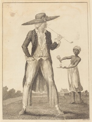 A Surinam Planter in his Morning Dress