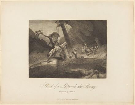 Sketch of a Shipwreck