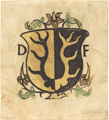 Bookplate of Dominicus Frauenfelder