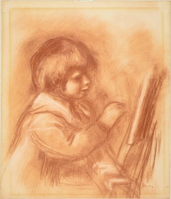 The Artist's Son Claude or Coco