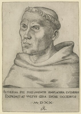 Luther as an Augustinian Friar