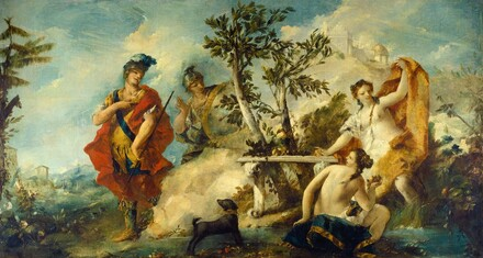 Carlo and Ubaldo Resisting the Enchantments of Armida's Nymphs
