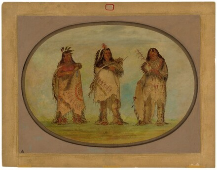 Three Distinguished Warriors of the Sioux Tribe