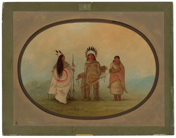A Crow Chief, a Warrior, and His Wife