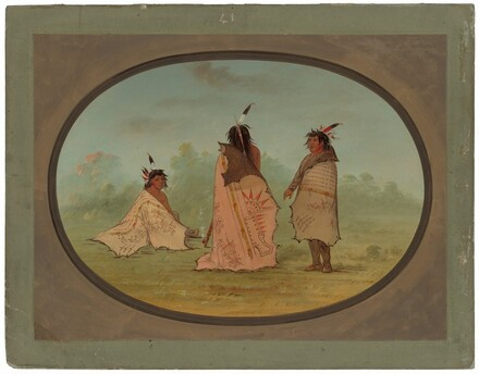 Three Blackfoot Men