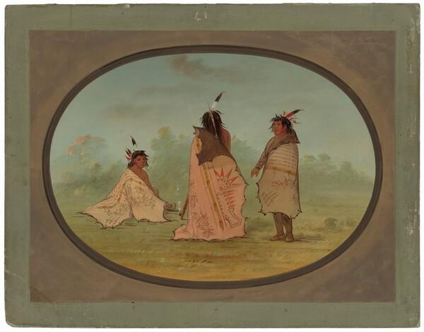 Three Blackfoot Men
